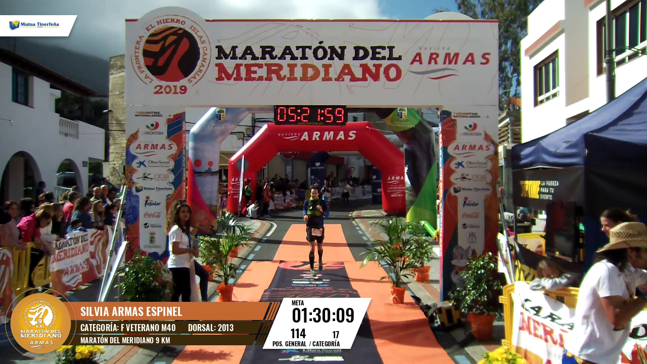 THE GIF OF <STRONG>SILVIA ARMAS ESPINEL [2013]</STRONG> IN MARATÓN DEL MERIDIANO 9 KM
