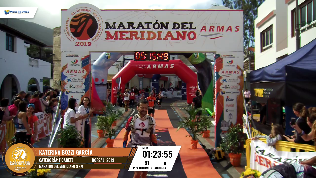 THE GIF OF <STRONG>KATERINA BOZZI GARCÍA [2019]</STRONG> IN MARATÓN DEL MERIDIANO 9 KM